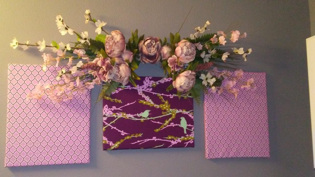 DIY Fabric Wall Art for Under $20