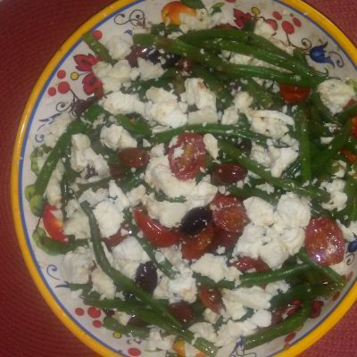 Balsamic & Feta Bean Salad Recipe