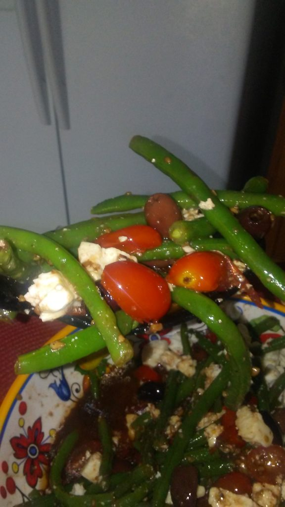 Balsamic & Feta Green Bean Salad Recip