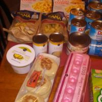 Our Weekly Meal Plan and Grocery Haul – $57 for a family of 3!