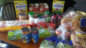 weekly meal plan and grocery haul