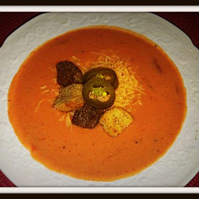 Delicious KID Pleasing Recipe for Sweet Roasted Red Pepper Potato Soup