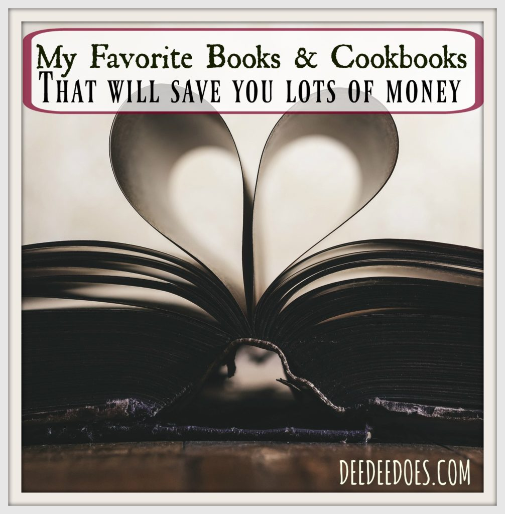 favorite books cookbooks save lots money