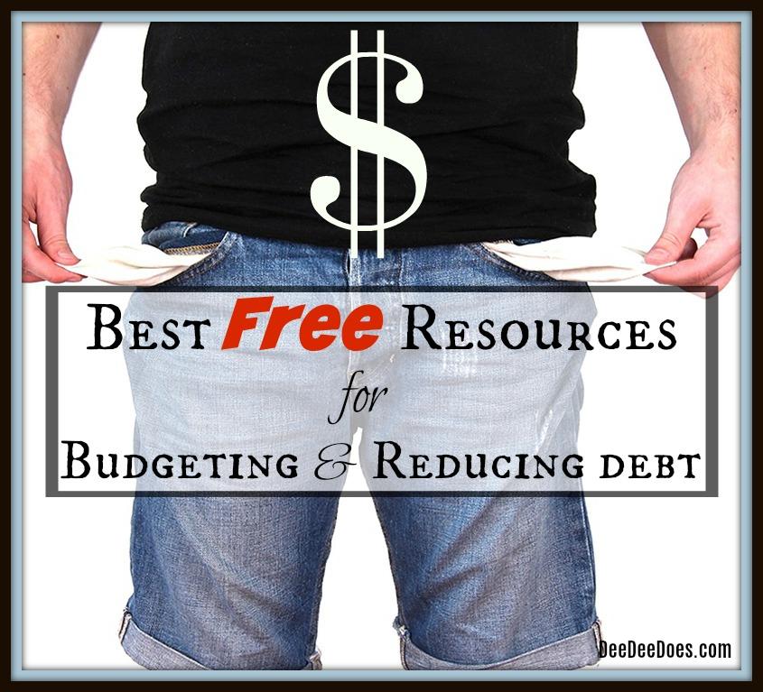 best free resources budgeting reducing debt