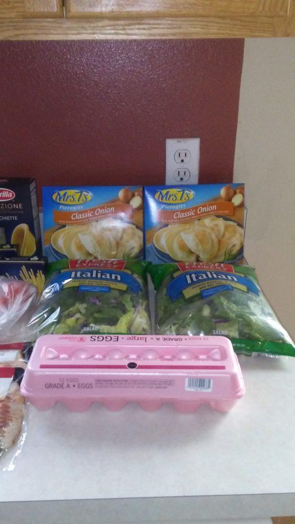 $47 weekly grocery list haul meal plan week October 16