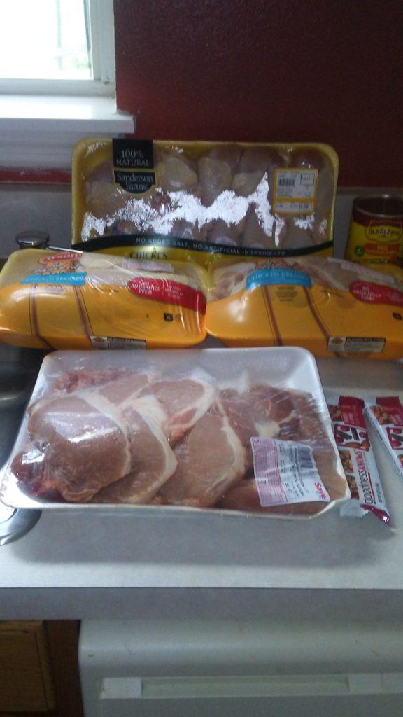 $59 Weekly Grocery List Haul Meal Plan Week October 23