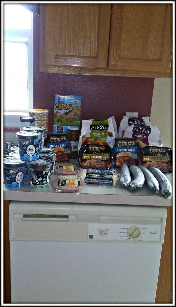 $37 Weekly Grocery List Haul Meal Plan Week October 30