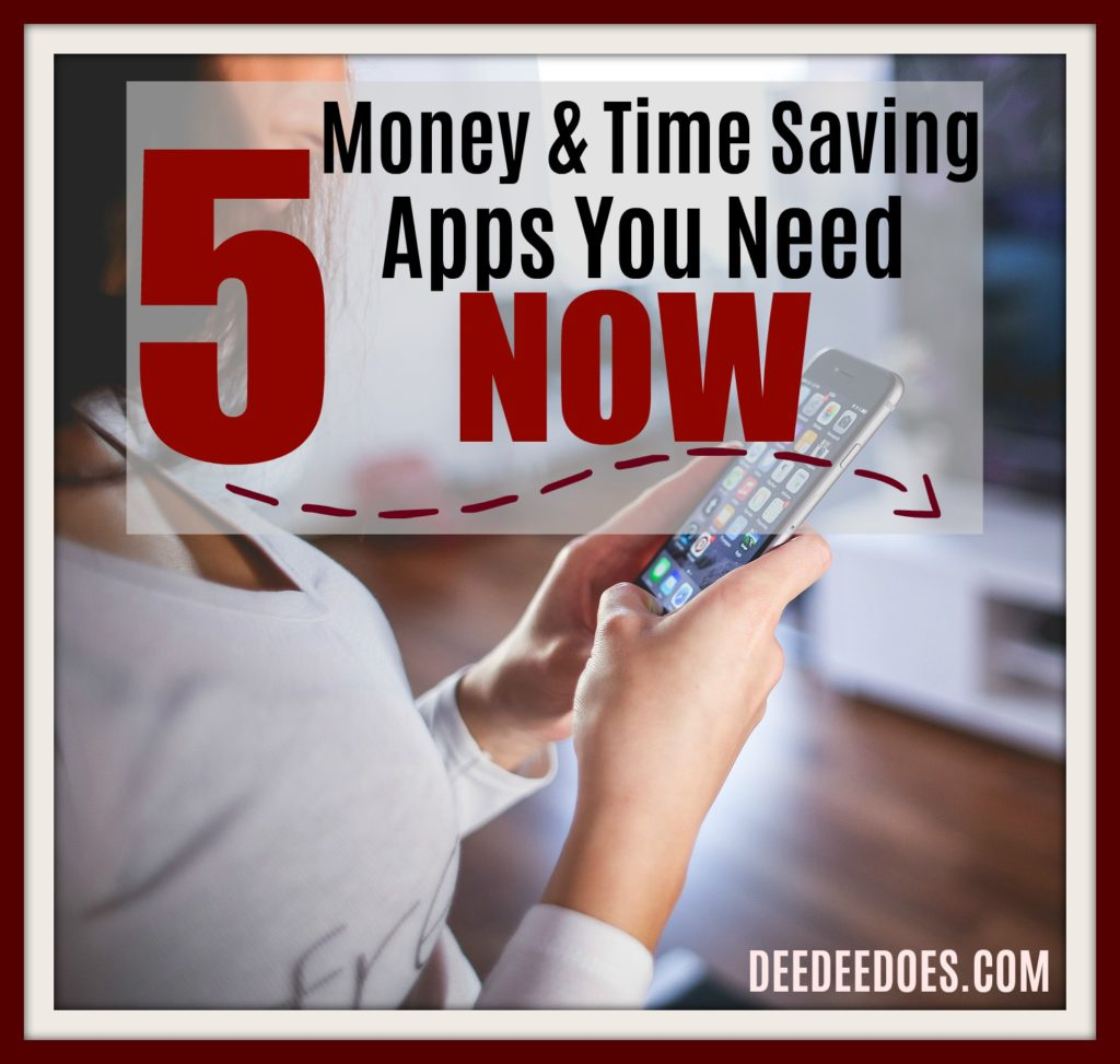 5 money time saving apps need