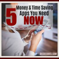 Who doesn't want to save more money and time overall? I recently came across these 5 money and time saving smartphone apps that you must download now to save you more money.