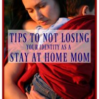 tips losing identity stay home mom