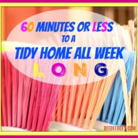60 Minutes or Less to a Tidy Home All Week Long