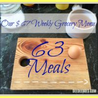 Our $67 Weekly Grocery List, Grocery Haul and Meal Plan for the Week of October 9