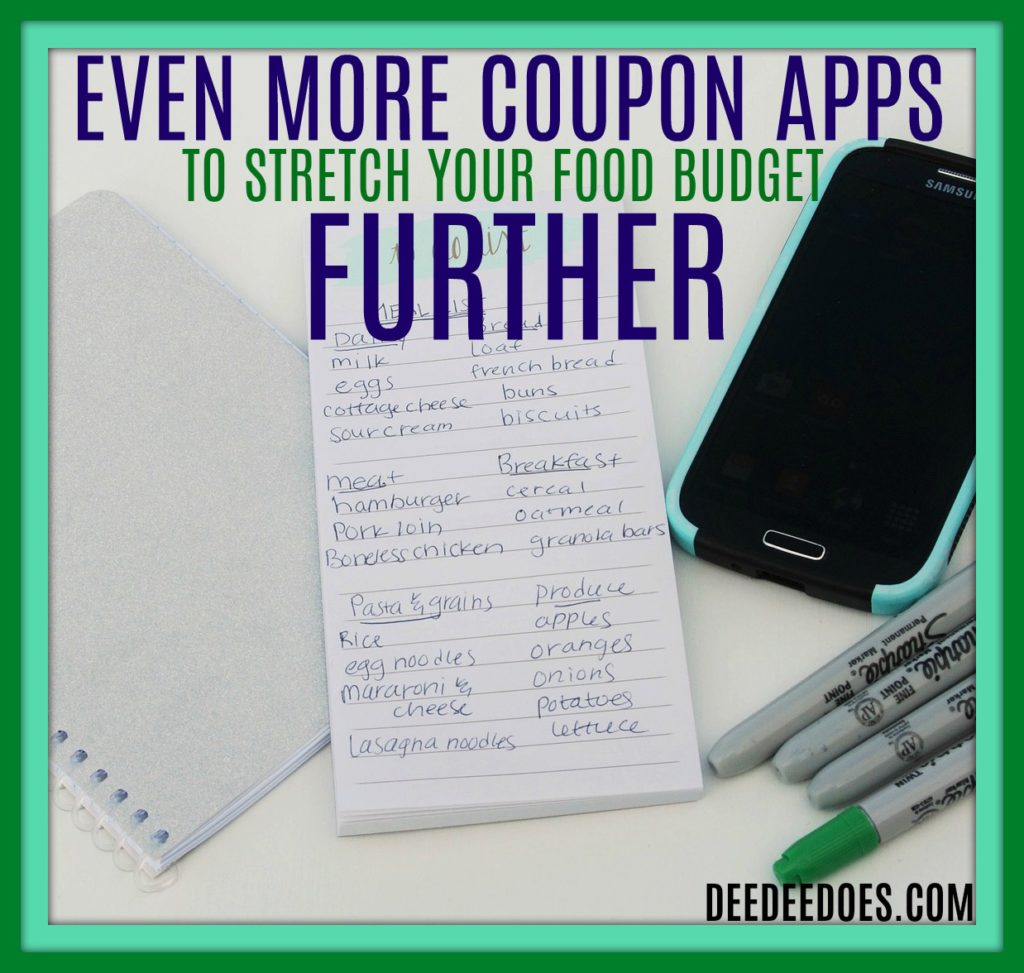 4 Coupon Apps Stretch Grocery Budget