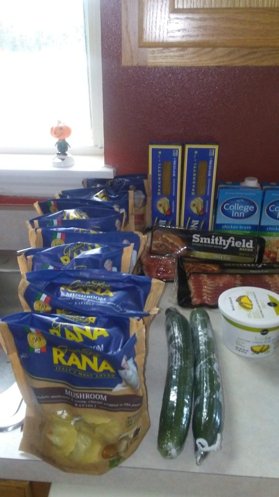 Weekly Grocery Haul Meal Plan
