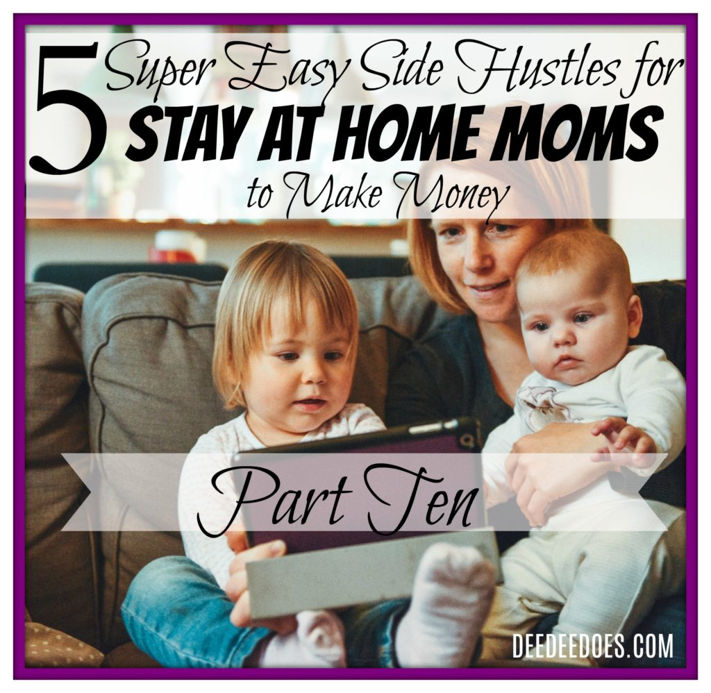 5 ways Stay At Home Moms earn money online