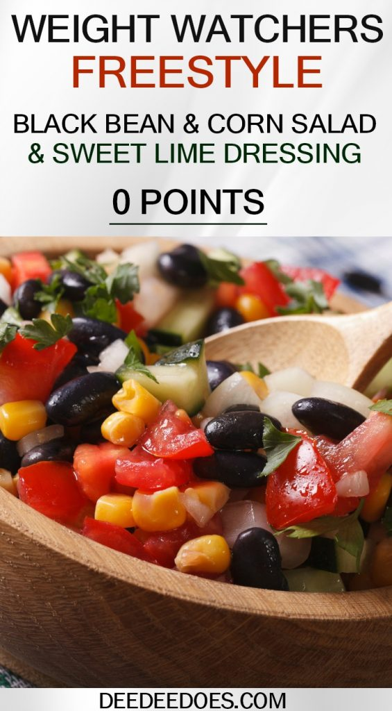 Weight Watchers 0 Point Black Bean & Corn Salad