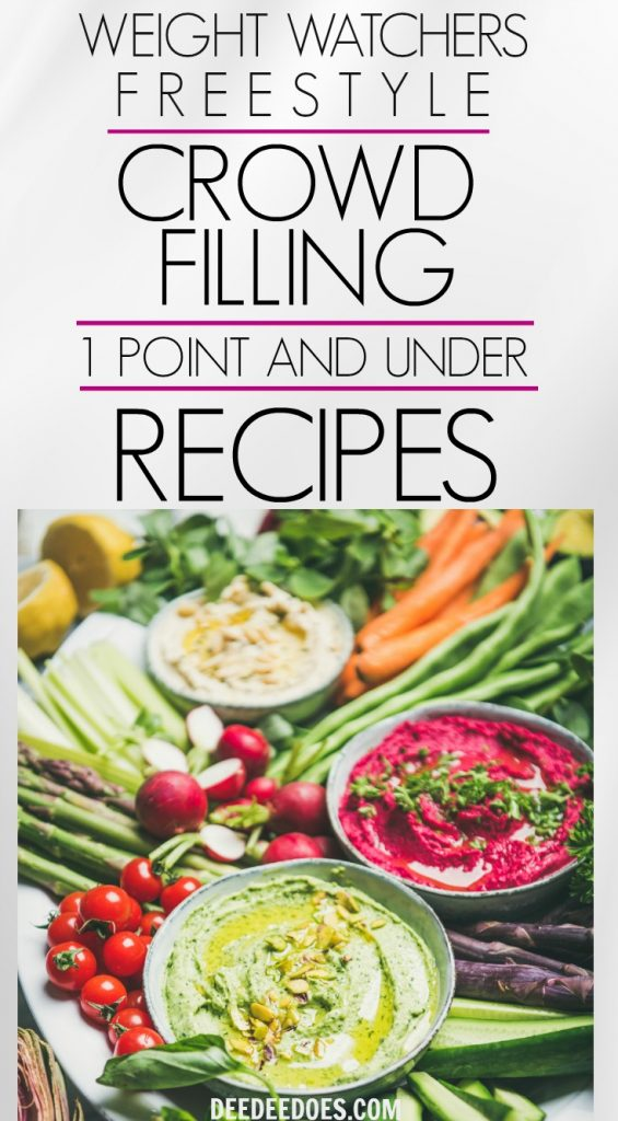 5 Super Low Point Crowd Pleasing Weight Watchers Freestyle Meals