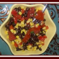 Recipe for Bodacious Black Bean Corn Salad & Sweet Lime Dressing – 0 Points on Weight Watchers Freestyle