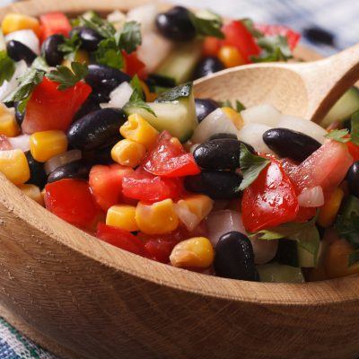 Weight Watchers Freestyle Black Bean Corn Salad & Sweet Lime Dressing – 0 Points!