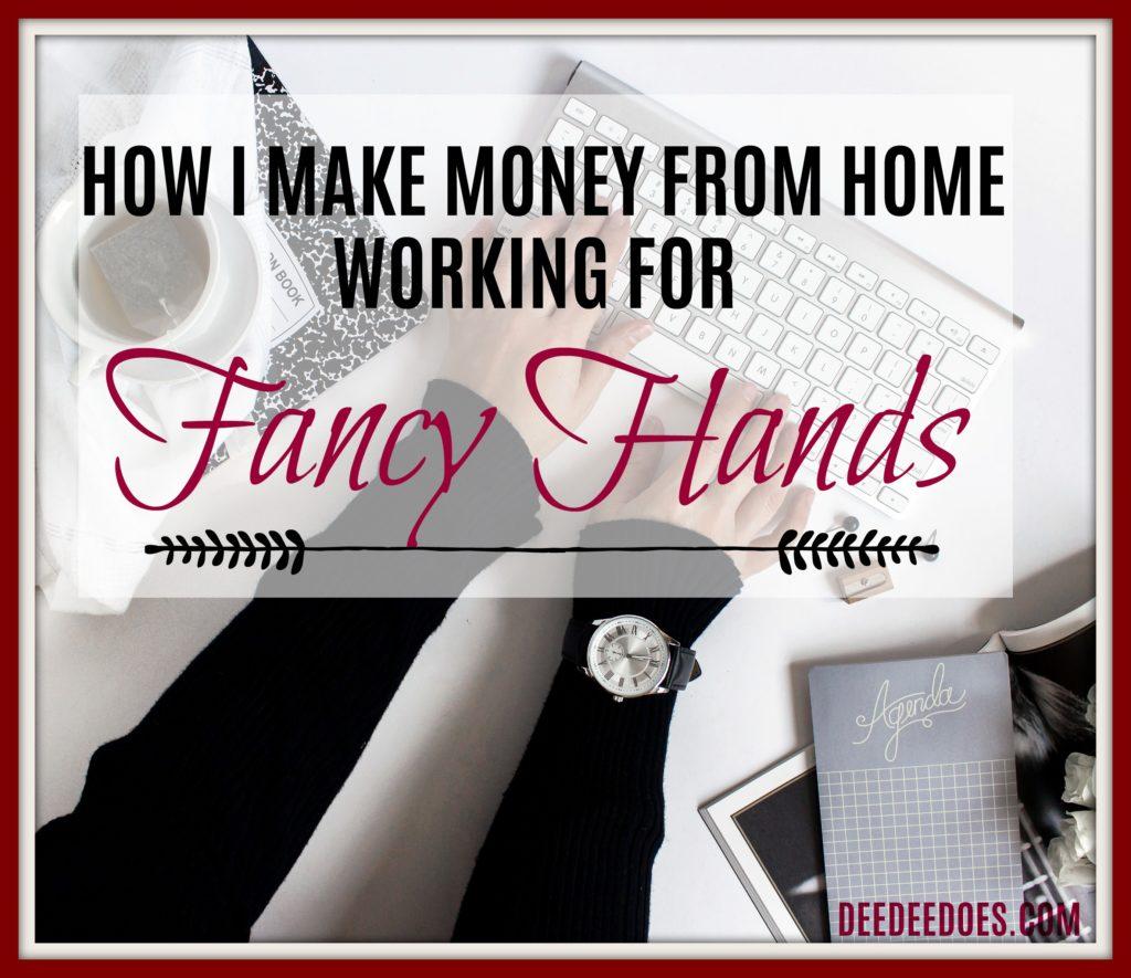 make money home working Fancy Hands