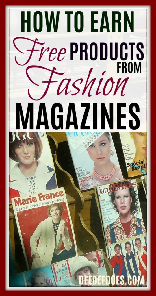 earn free products favorite magazines