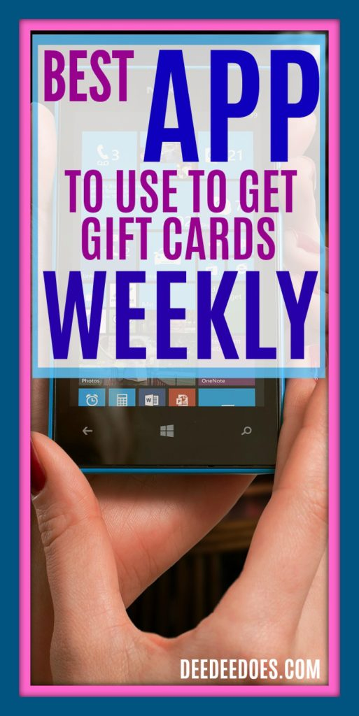 use Shopkick App gift cards weekly