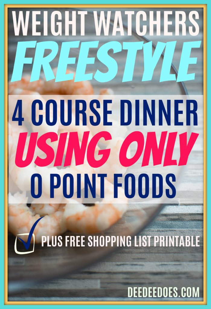 image regarding Printable Weight Watchers Points Plus Food List titled Bodyweight Watchers Freestyle 4 Study course Evening meal Application Applying 0 Reality Food stuff
