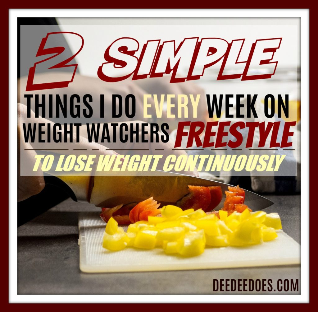 reveal two things success Weight Watchers Freestyle week pic heavy post