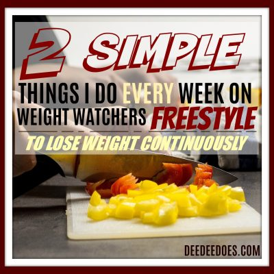 Do These Two Things To Have The Most Success With Weight Watchers Freestyle – PIC HEAVY POST