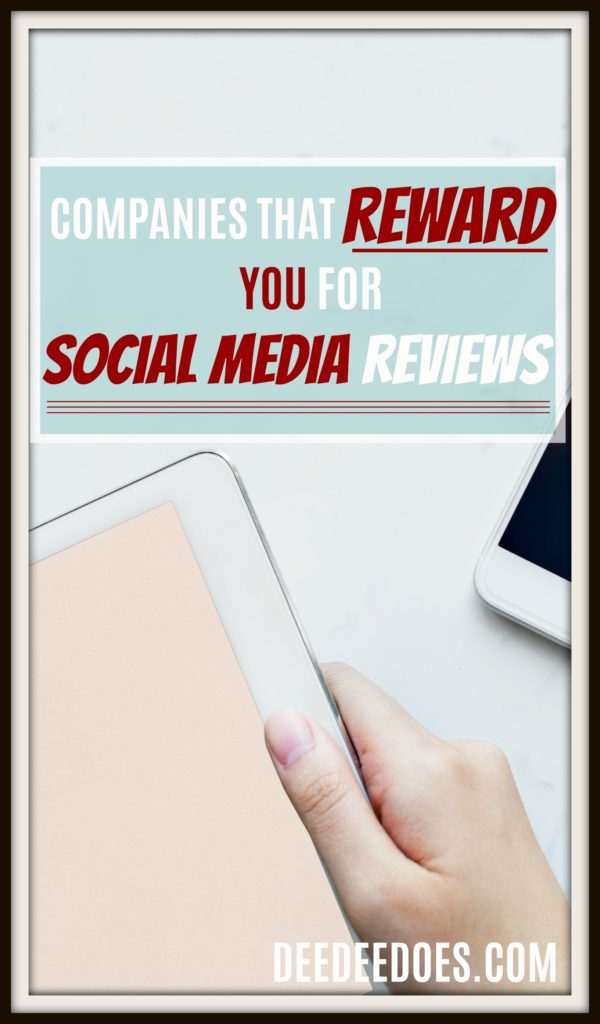 companies reward social media reviews