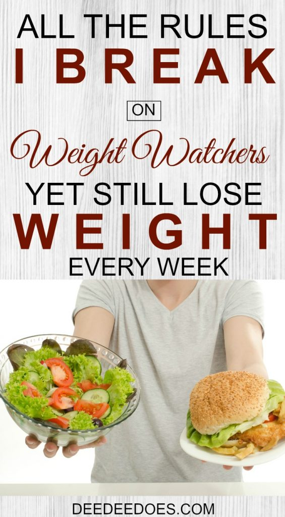 rules break Weight Watchers Freestyle lose weight consistently
