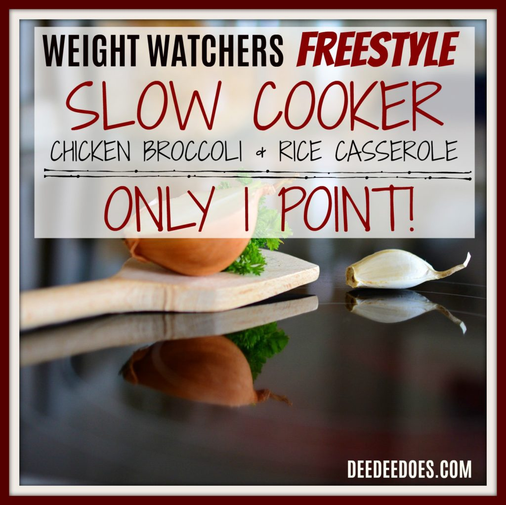 Weight Watchers Freestyle Recipe Slow Cooker Chicken Broccoli Rice Casserole