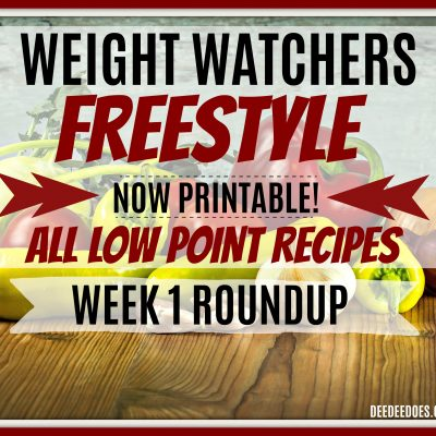Low Point Weight Watchers Freestyle Recipes – NOW PRINTABLE!