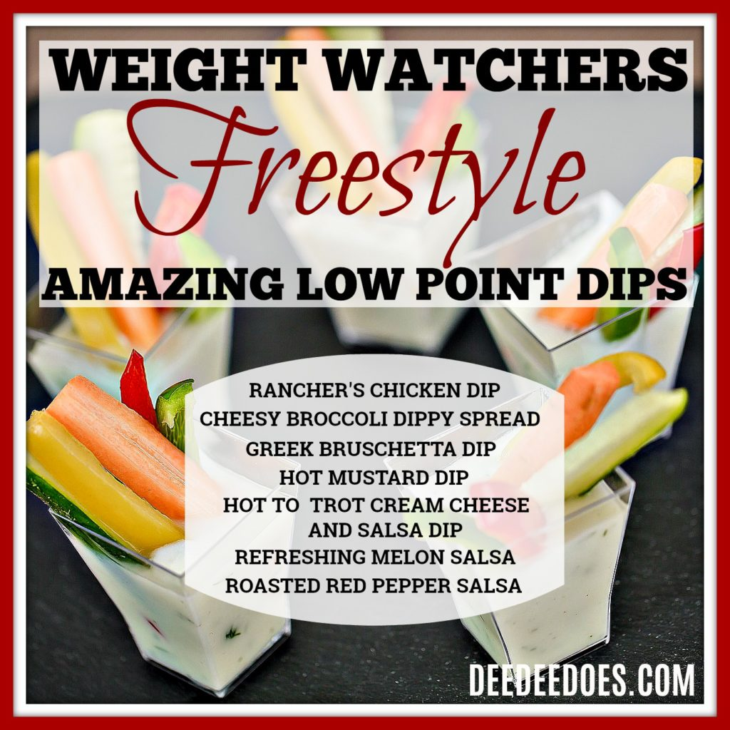 low point Weight Watchers Freestyle Dips healthy low fat dips