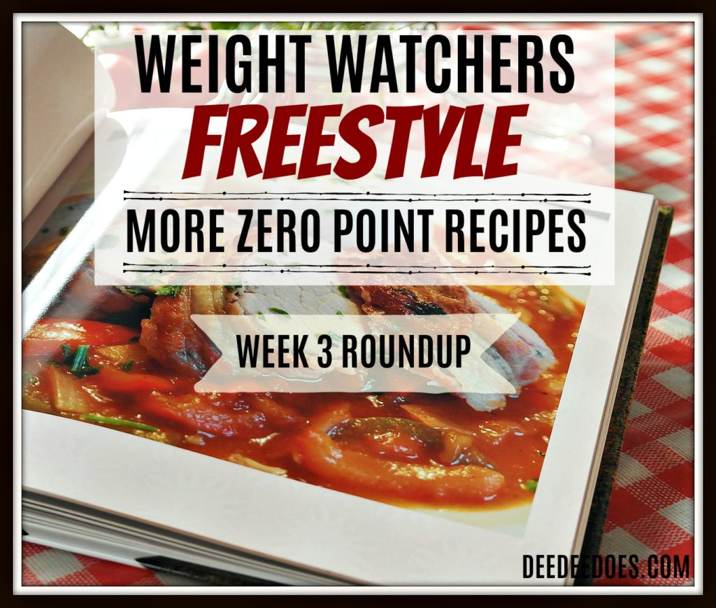 Week 3 Roundup printable Weight Watchers Freestyle recipes