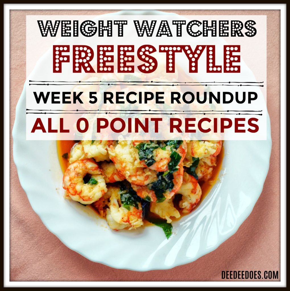 Printable Weight Watchers Freestyle Recipes Week 5 Roundup