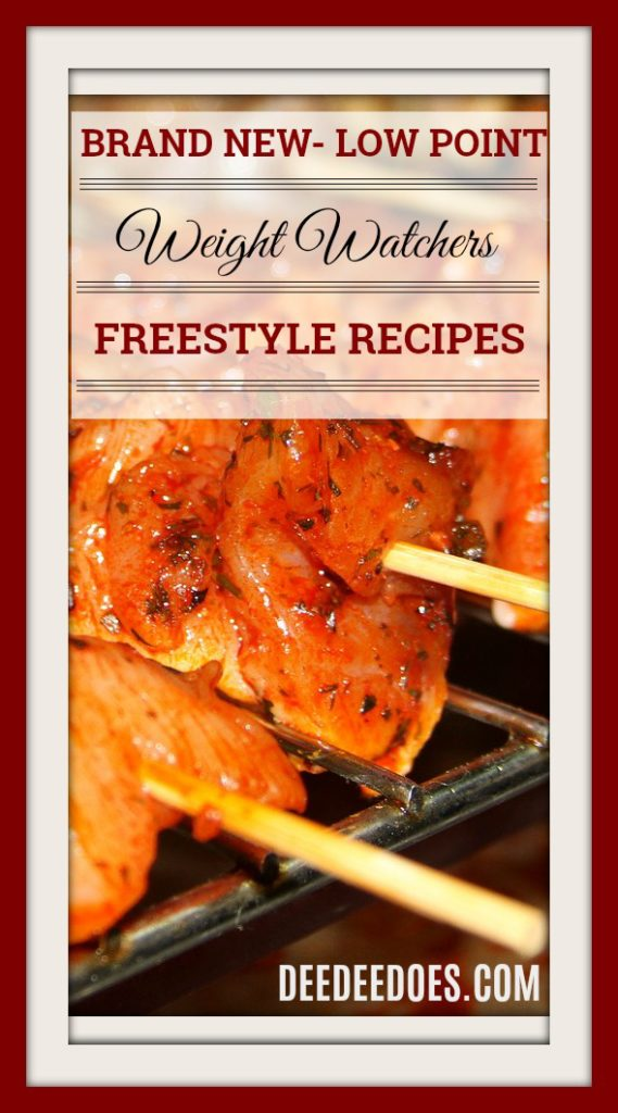 Brand New Low Point Weight Watchers Freestyle Recipes