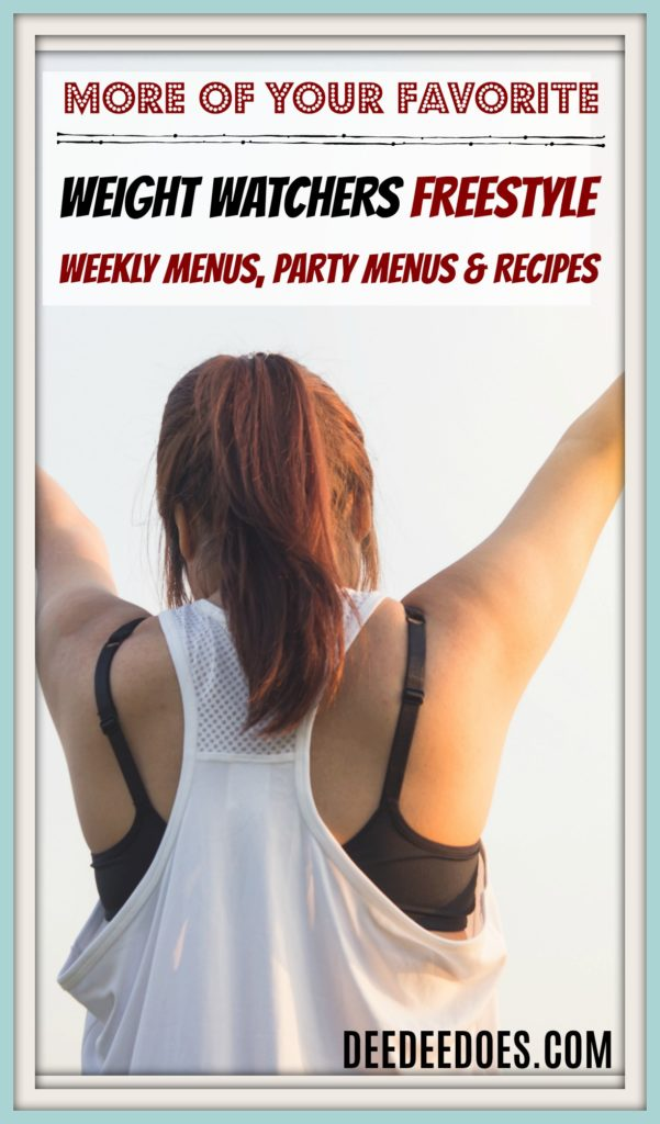 More Favorite Weight Watchers Freestyle Menus, Recipes
