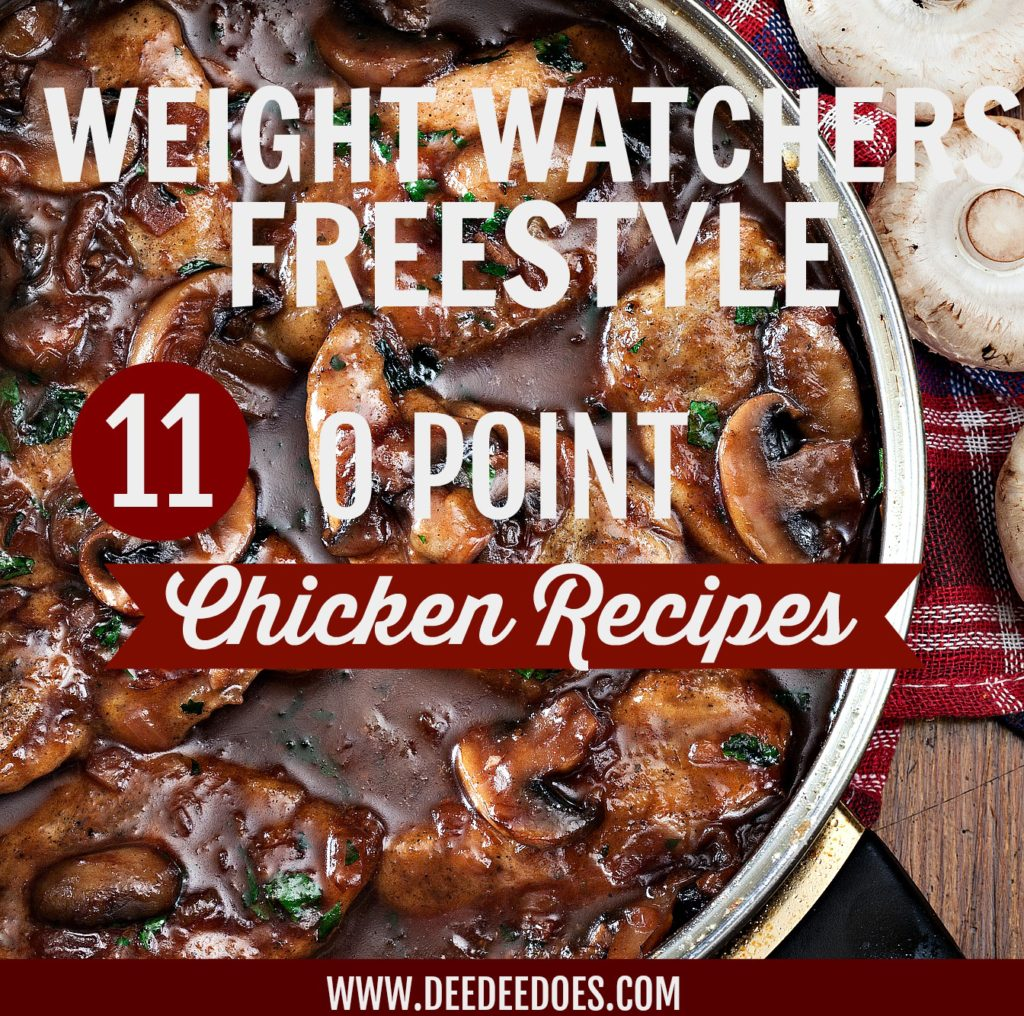 WEIGHT WATCHERS FREESTYLE 0 POINT HEALTHY LOW CARB CHICKEN RECIPES