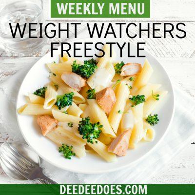 Week 44 – Weight Watchers Freestyle Weekly Menu – Week of 11/12/18