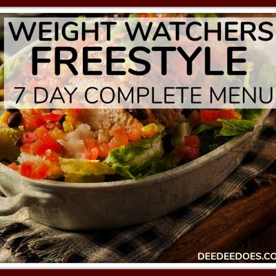 Week 43 – Weight Watchers Freestyle Weekly Menu – 4 BRAND NEW 0 Point Chicken Recipes