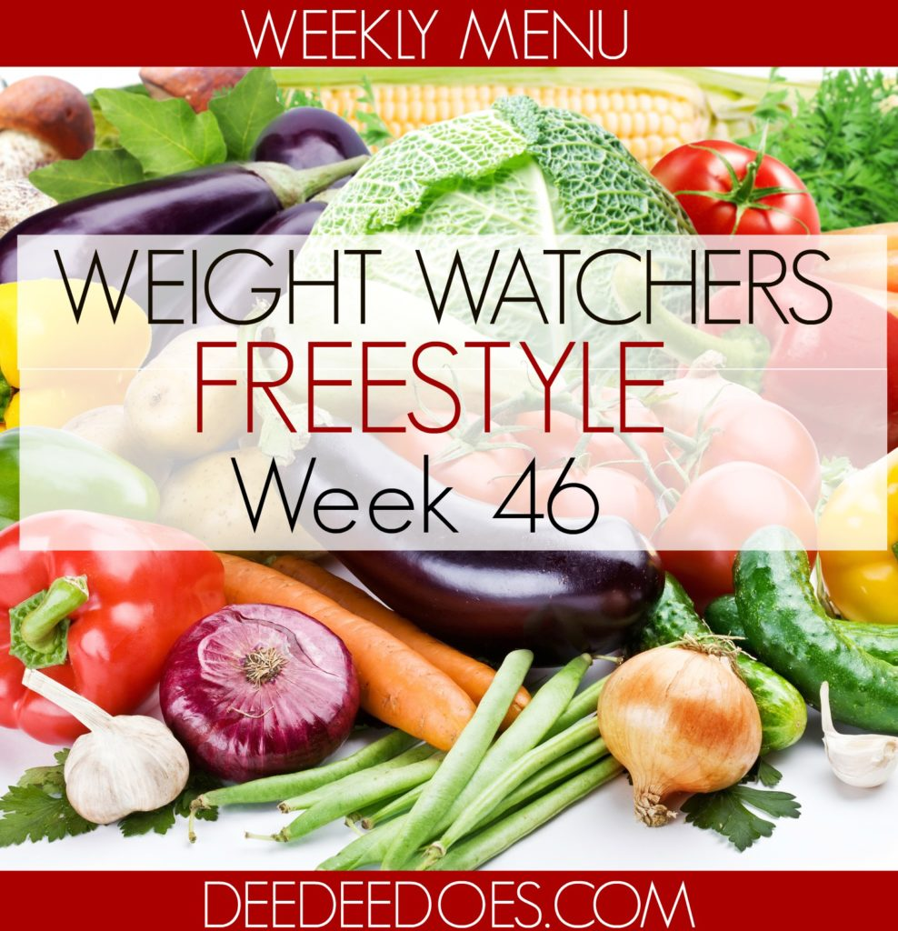 low point weight watchers freestyle menu