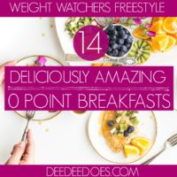 Weight Watchers Freestyle Breakfast Recipes 0 Points