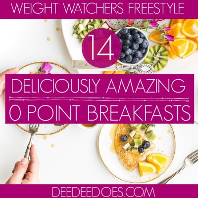 Amazingly Delicious Weight Watchers Breakfast Recipes for 0 Points