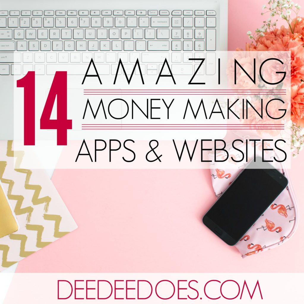 14 Apps Websites Make Money