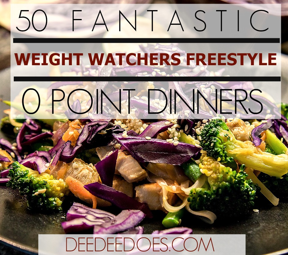 50 Fantastic Weight Watchers Freestyle 0 Point Dinner Recipes