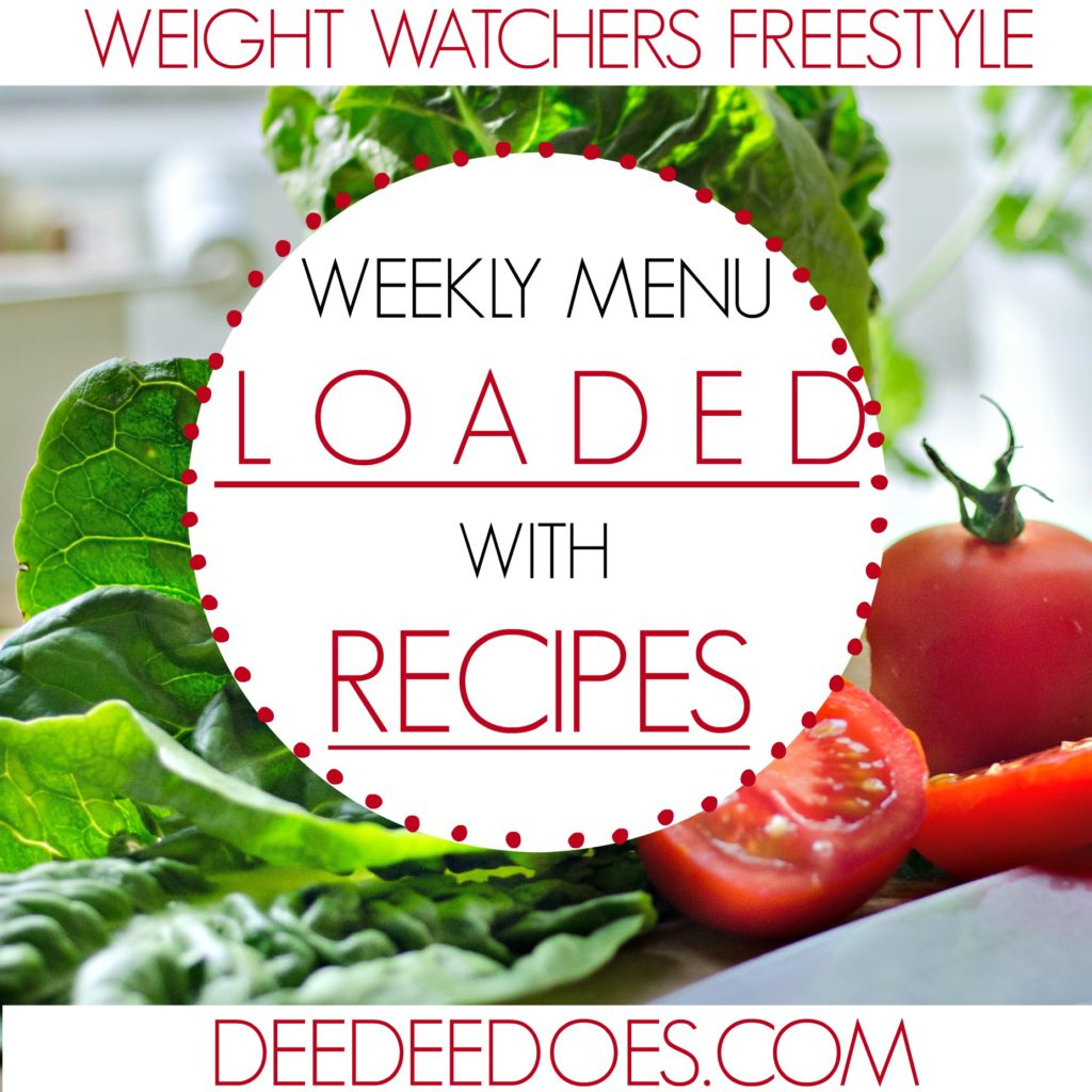 Weight Watchers Freestyle Weekly Meal Plan New Healthy Recipes