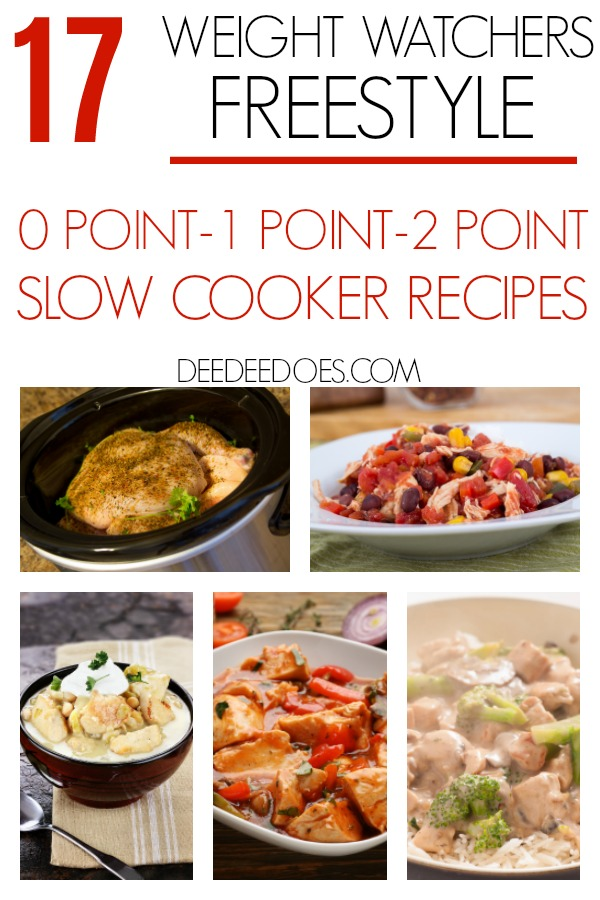 Weight Watchers Freestyle Slow Cooker 0, 1 & 2 Point Recipes
