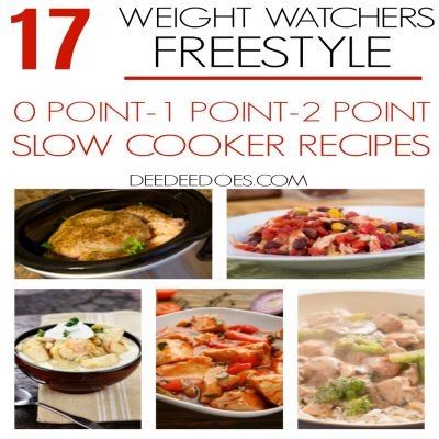 17 Weight Watchers Freestyle Slow Cooker 0, 1 and 2 Point Recipes