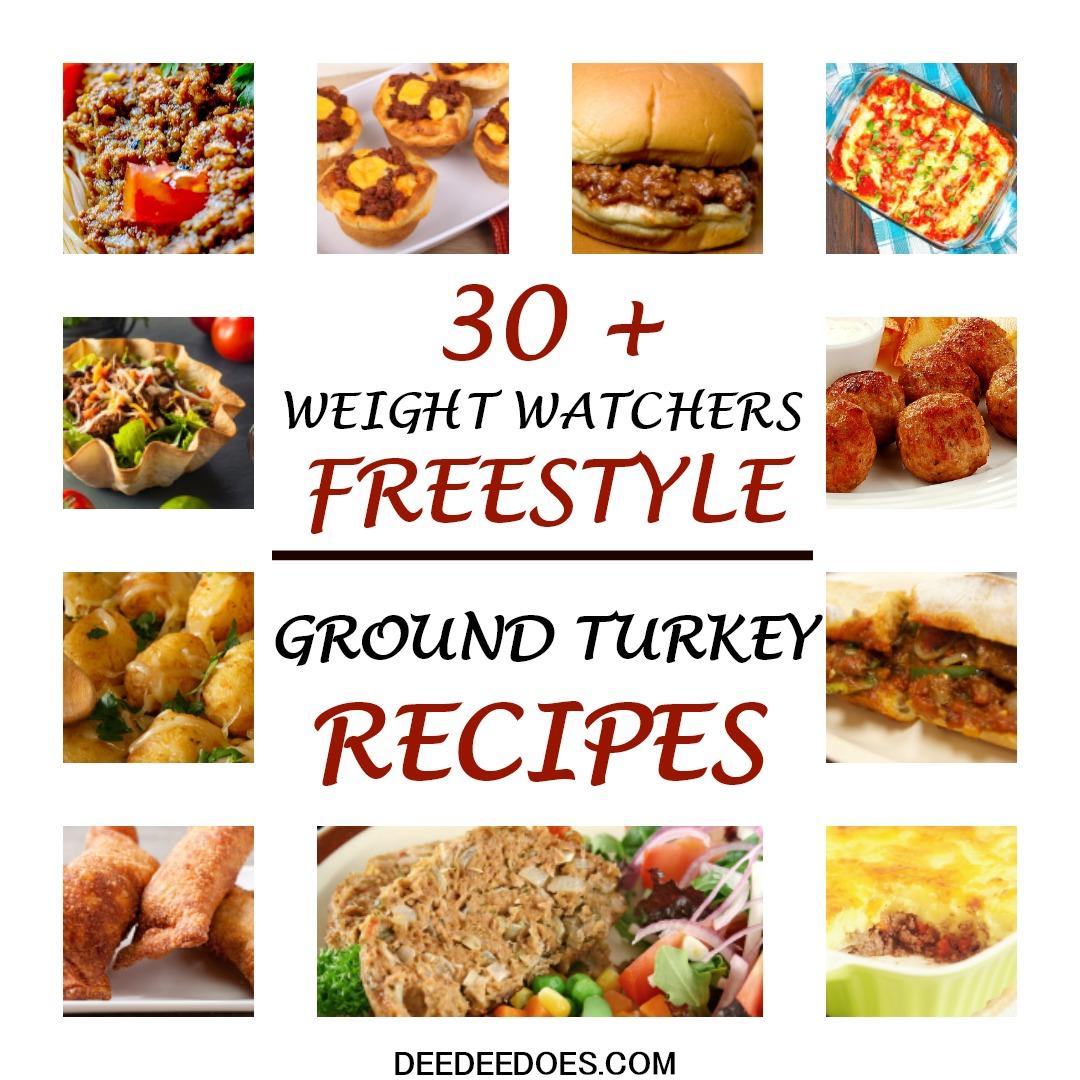 Weight Watchers Freestyle Recipes Using 0 Point Ground Turkey Chicken
